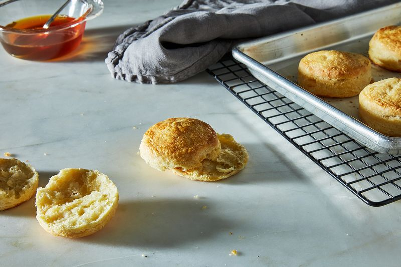 Light and Flaky Buttermilk Biscuits