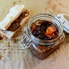 Fig jam with a twist