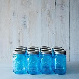 Blue Ball American Heritage Collection Pint Jars (Set of 12)