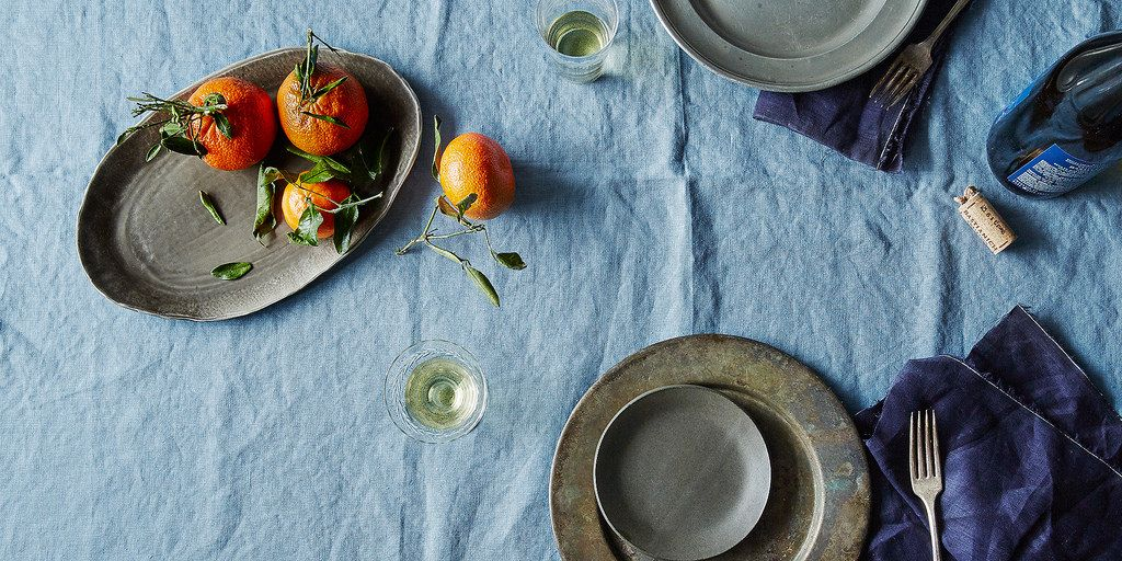 Linen Celina Mancurti Tablecloth