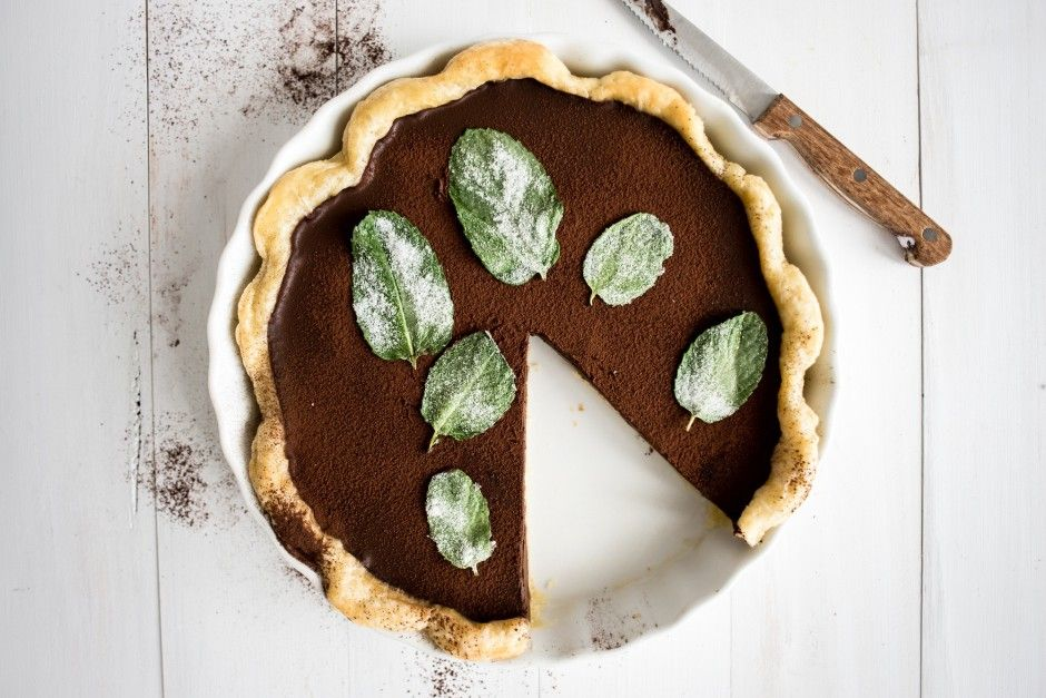 Mint Julep Pie