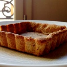 Vanilla-Chestnut Shortbread Crust
