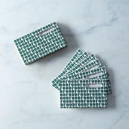 Yum Letterpress Recipe Cards, Two 6-packs