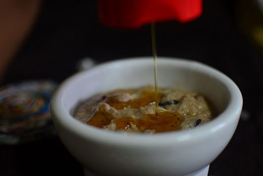 Toasted Oatmeal with Fruit & Spice