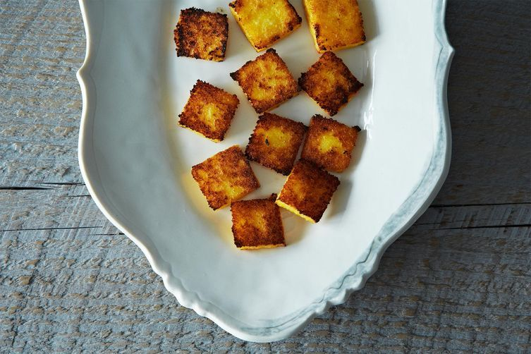 Broiled Polenta Cakes on Food52