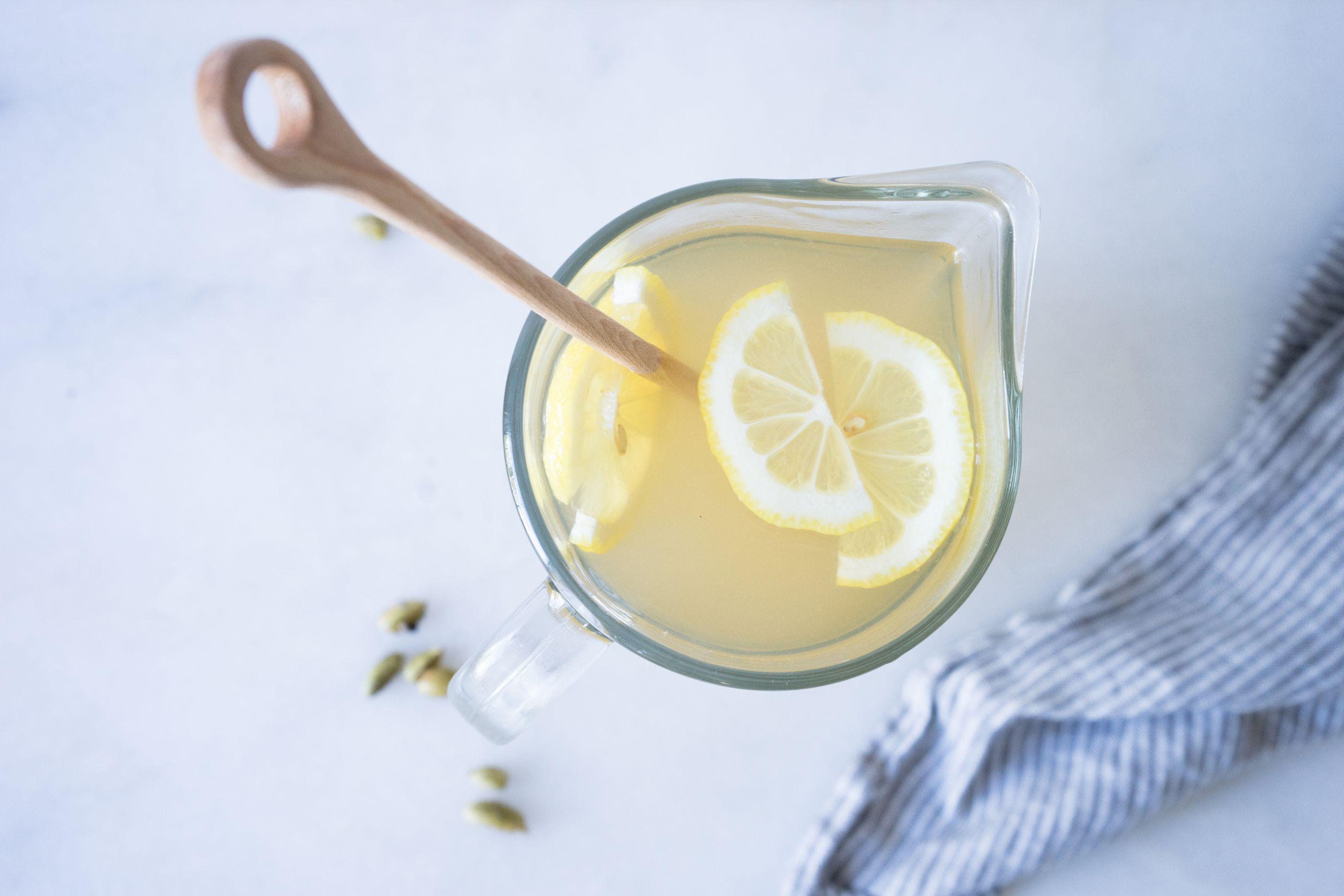 Cardamom lemonade