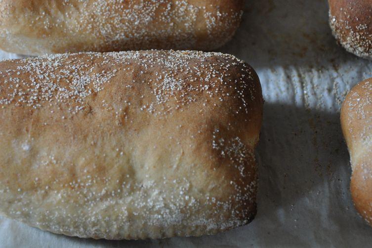 Cuban Bread-Inspired Sandwich Rolls