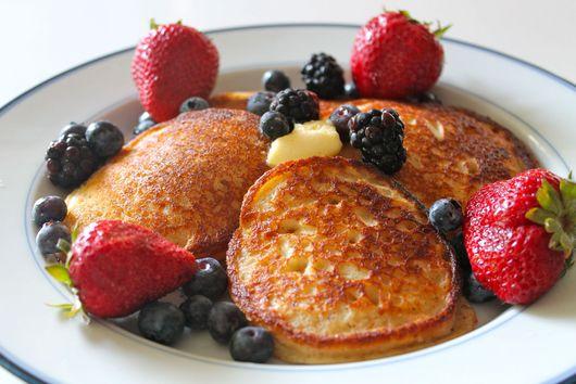 Gluten Free Lemon Pancakes
