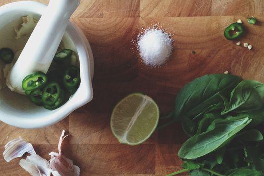 Coriander & Lime Squid Salad