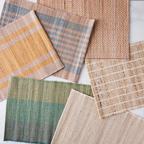 Handwoven Banana Leaf Placemats (Set of 4)
