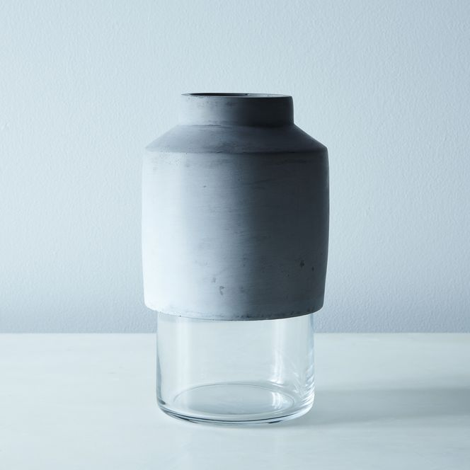 Glass Concrete Vase On Food52