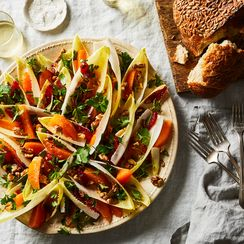 The Secret to This Bright Salad Is Already in Your Fridge