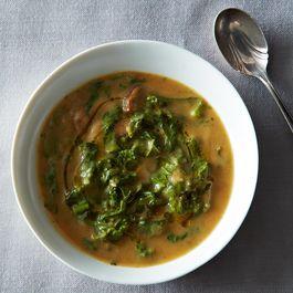Caul-do Verde (Portuguese Caldo Verde with Cauliflower)
