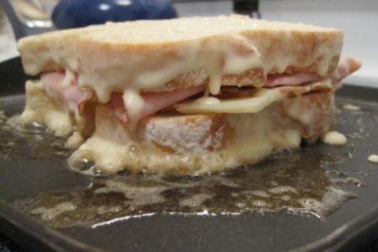 Three Cheese Monte Cristos