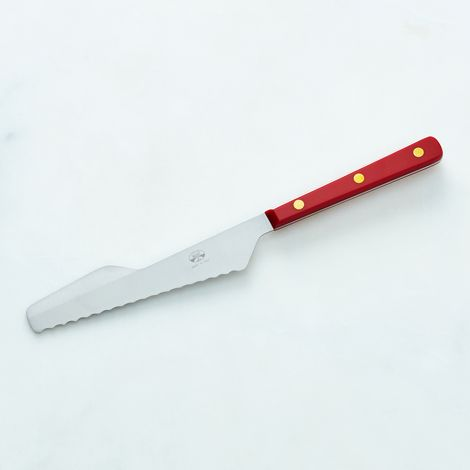 Berti Red-Handled Nocciola Knife and Spreader
