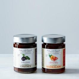 Grapefruit-Thyme Marmalade and Plum-Fennel Chutney