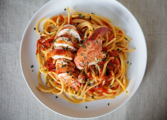 Lobster Diavolo from Food52