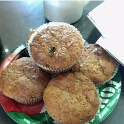 Gramma's Raisin Bran Muffins