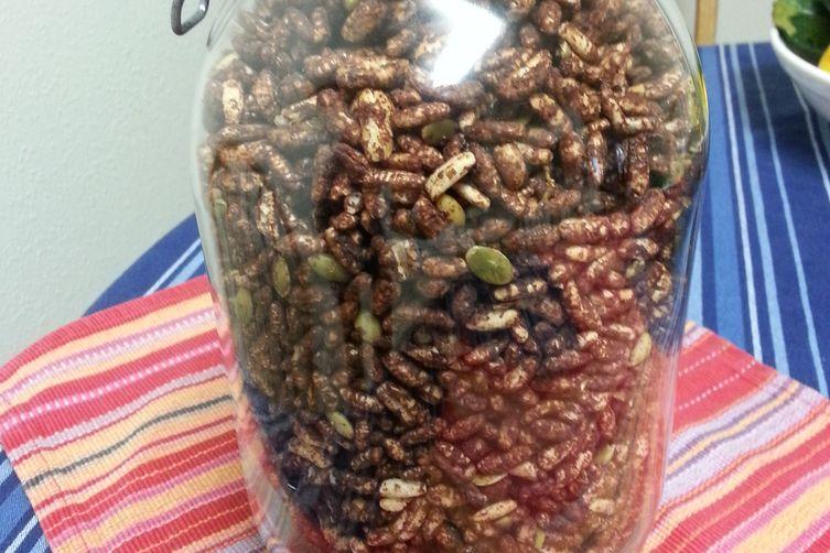 Dark Chocolate Pumpkin Seed Crunch