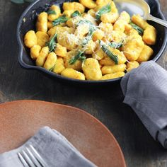 Pumpkin Gnocchi with Sage Butter