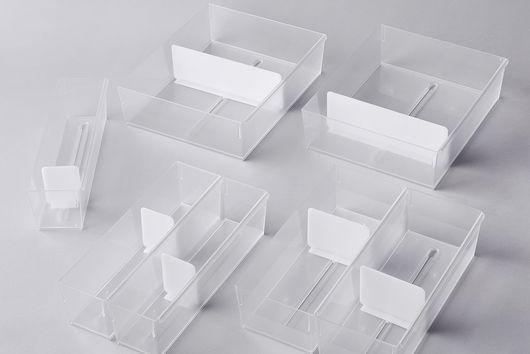 Adjustable Drawer Organizers