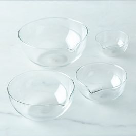 Borosilicate Glass Nesting Prep Bowls (Set of 4)