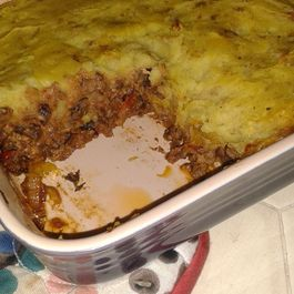 Vegan Mushroom and Walnut Shepherd's Pie
