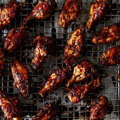 Orange-Sesame Chicken Wings