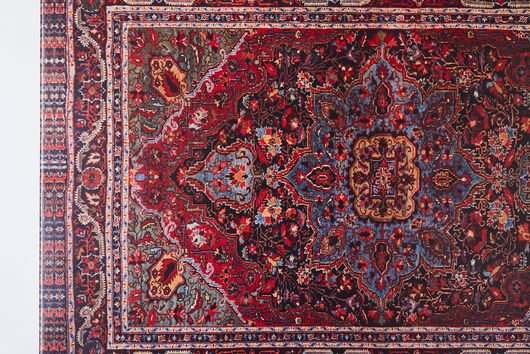 Vintage-Inspired Persian Vinyl Runners