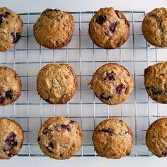 Raspberry Oat and Yogurt Spelt Muffins