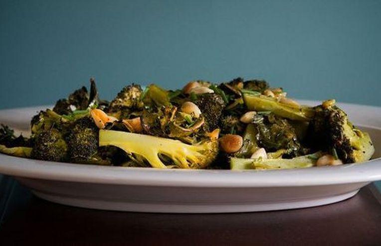 Dinner Tonight: Drunken Clams + Mustardy Roasted Broccoli