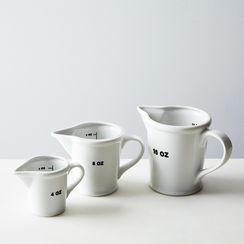 Ceramic Measuring Cups (Set of 3)