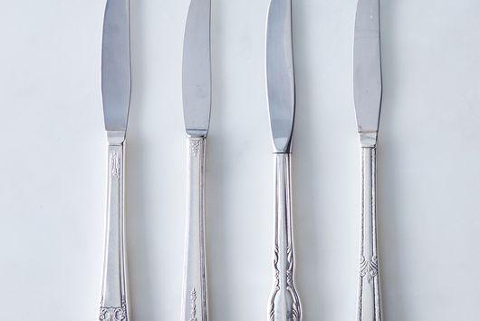 Vintage Grille Knives (Set of 4)