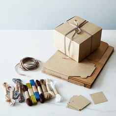 Bakery Box, Ribbon & Tags
