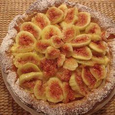 Fresh Fig puff pastry tart