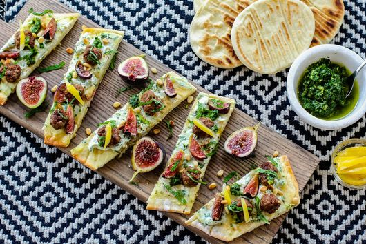 Lamb and Chermoula Flatbread