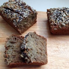 Banana Oat Bread (GF, NF and great LC option)