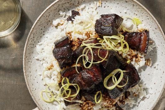 Hong Shao Rou (Pork Belly Braised in Soy Sauce)