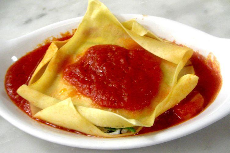 Individual Ricotta and Zucchini Lasagnette