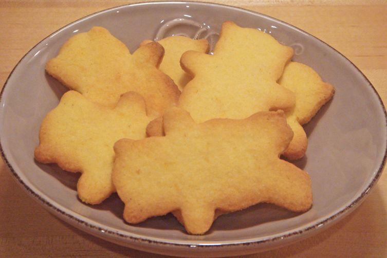 Super Crunchy Orange and Cornmeal Biscuits