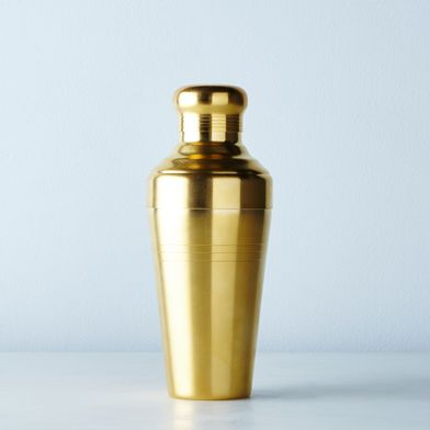 Japanese Matte Gold Cocktail Shaker