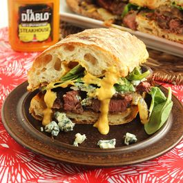 Grilled Beef Tenderloin Sandwich with Spicy Steakhouse Aioli