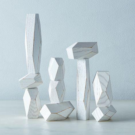 Oak Balancing Blocks