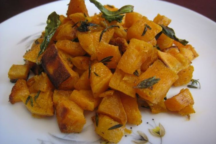 Tangy Baked Sweet Potato