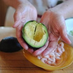 Avocados Stuffed With Shrimp