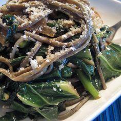 Healthy Weeknight Pasta And Greens