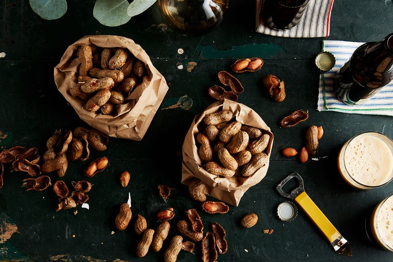 Salty Southern Boiled Peanuts
