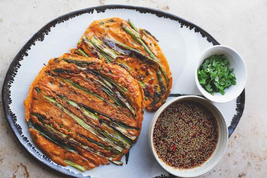 Asparagus & Gochujang Pancakes From Yotam Ottolenghi & Ixta Belfrage