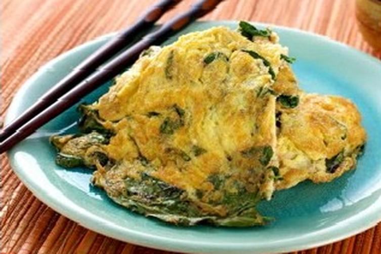 Basil Omelette
