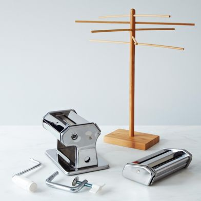 Pasta Machine & Drying Rack
